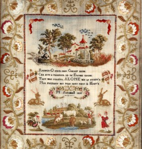 Parlorcraft: Embroidered Samplers @ Mt. Vernon Hotel Museum | New York | New York | United States