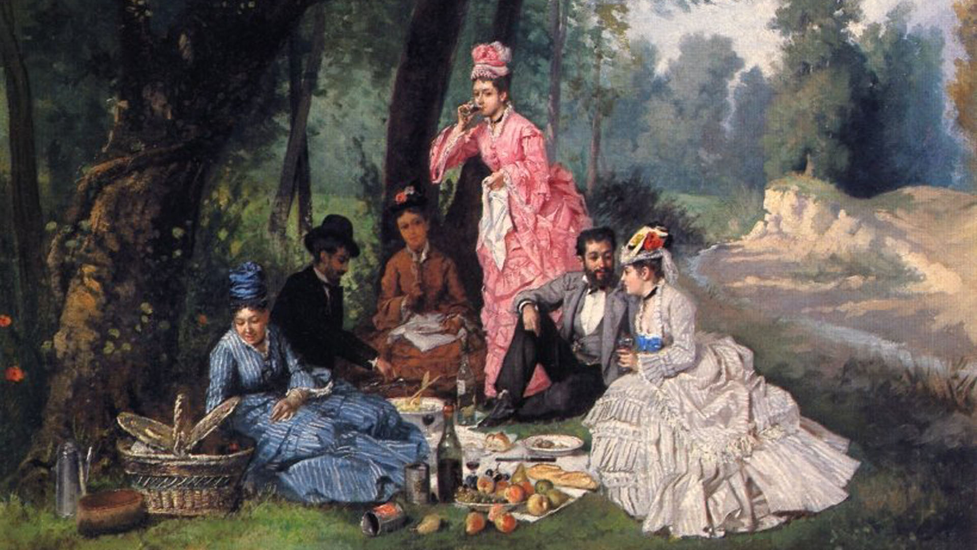 Victorian Picnic @ Great Hill, Central Park | New York | New York | United States